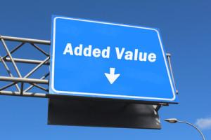 Added Value - Highway Sign